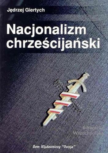 Okładka książki Nacjonalizm chrześcijański