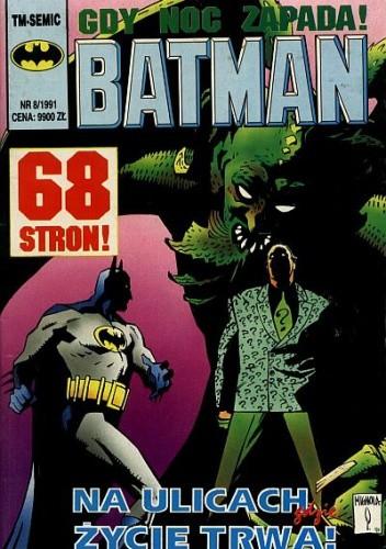 Okładka książki Batman 8/1991