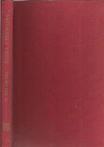 Okładka książki Rzeka czerwona