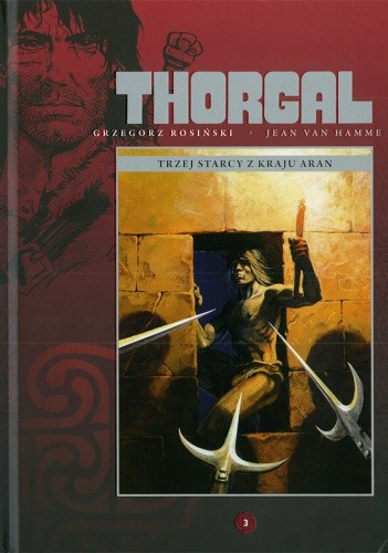 Okładka książki Thorgal: Trzej starcy z kraju Aran