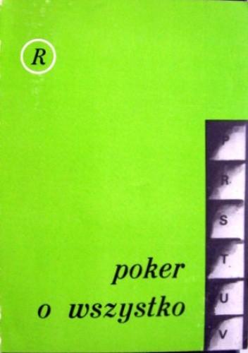 Okładka książki Poker o wszystko