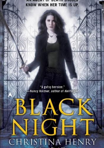 Okładka książki Black Night
