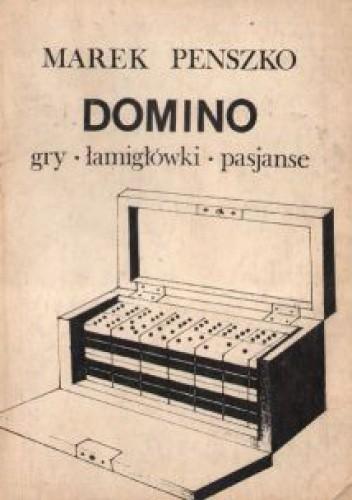 Okładka książki Domino. Gry, łamigłówki, pasjanse
