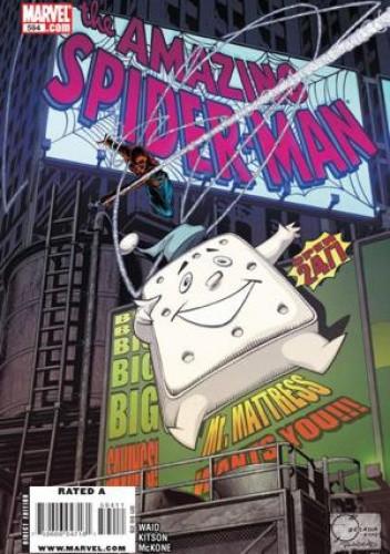 Okładka książki Amazing Spider-Man Vol 1# 594 - Brand New Day: 24/7: Finale
