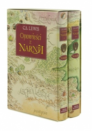 Okładka książki Opowieści z Narnii - wydanie dwutomowe