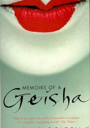 Okładka książki Memoirs of a Geisha