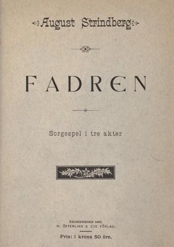 Okładka książki Ojciec