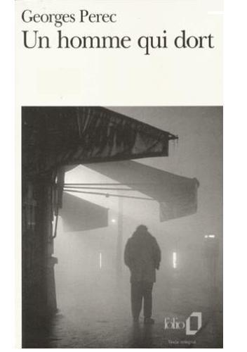 Okładka książki Un homme qui dort