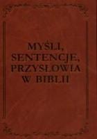 Myśli, sentencje, przysłowia w Biblii