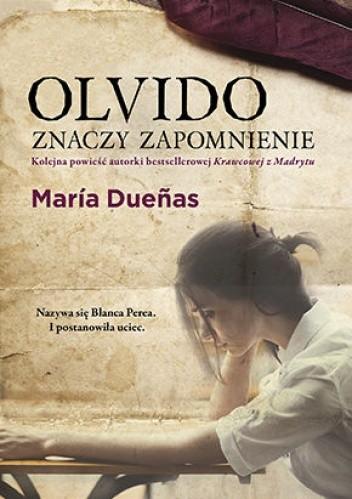 Okładka książki Olvido znaczy zapomnienie