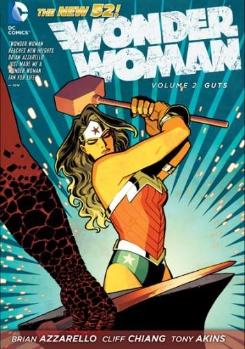 Okładka książki Wonder Woman: Guts
