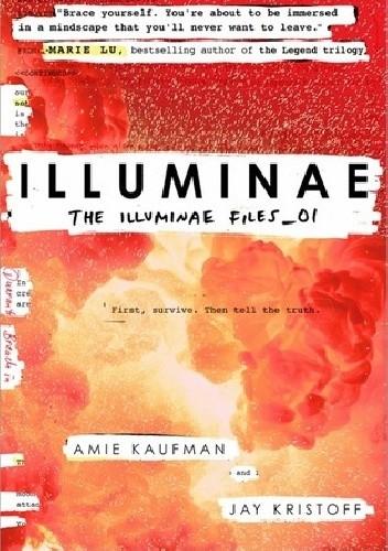 Okładka książki lluminae. The Illuminae Files_01