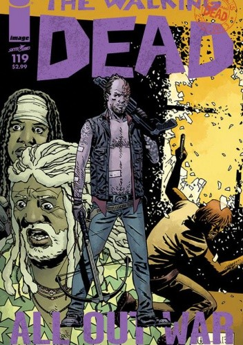 Okładka książki The Walking Dead #119