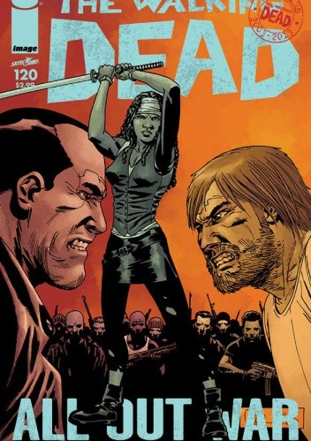 Okładka książki The Walking Dead #120