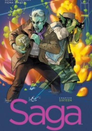 Okładka książki Saga #16