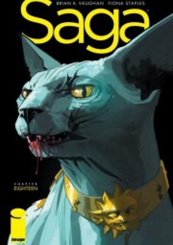 Okładka książki Saga #18