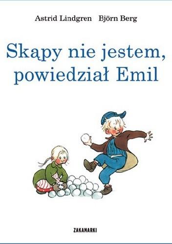 Okładka książki Skąpy nie jestem, powiedział Emil
