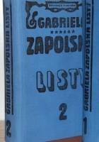 Listy Gabrieli Zapolskiej tom 2