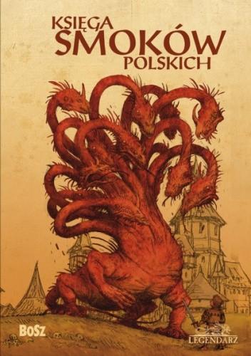 Okładka książki Księga smoków polskich