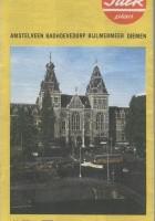 Amsterdam: Stadsplattegrond met Centrumkaart