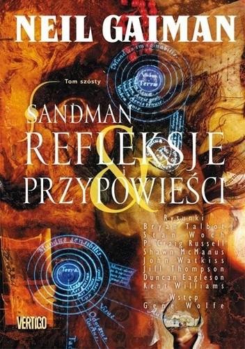 Okładka książki Sandman: Refleksje i przypowieści