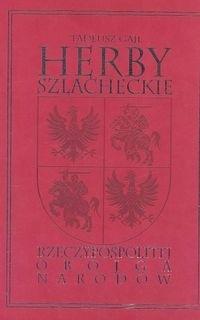 Okładka książki HERBY SZLACHECKIE POLSKI POROZBIOROWEJ