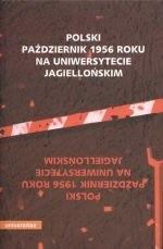 Okładka książki Polski październik   roku na Uniwersytecie Jagiellońskim
