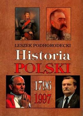 Okładka książki Historia Polski 1796-1997