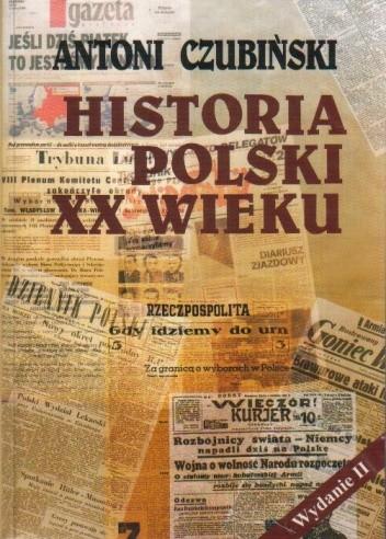 Okładka książki Historia Polski XX wieku