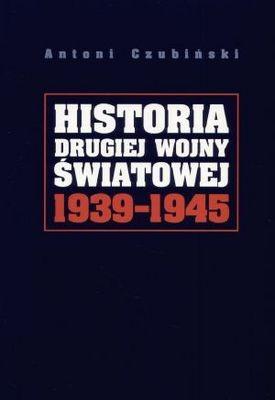 Okładka książki Historia drugiej wojny światowej 1939-1945