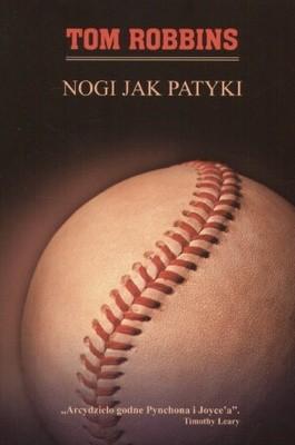 Okładka książki Nogi jak patyki