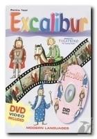 Okładka książki Excalibur + DVD Video Kolekcja Theatrino