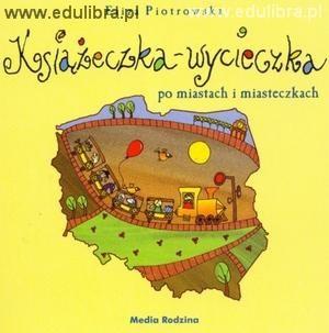 Okładka książki Książeczka - wycieczka po miastach i miasteczkach