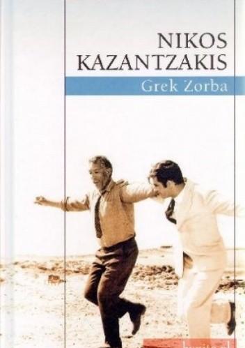 Okładka książki Grek Zorba