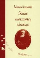 Okładka książki Sławni warszawscy adwokaci. Wydanie 2.