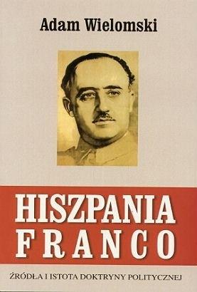 Okładka książki Hiszpania Franco