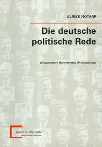 Okładka książki Die deutsche politsche Rede