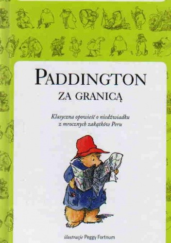 Okładka książki Paddington za Granicą