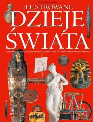 Okładka książki Ilustrowane dzieje świata