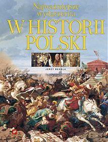 Okładka książki Najważniejsze wydarzenia w historii Polski