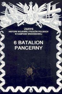 Okładka książki 6 Batalion Pancerny