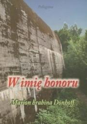 Okładka książki W imię honoru