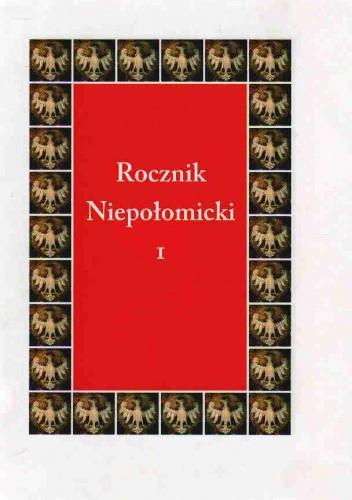 Okładka książki Rocznik Niepołomicki I