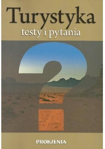 Okładka książki Turystyka. Testy i pytania