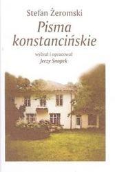 Okładka książki Pisma konstancińskie