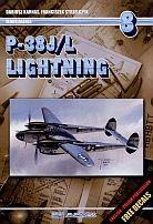 Okładka książki P-38J/L Lighting. Modelmania 8. Wersja polsko-angielska