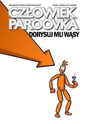 Okładka książki Człowiek Paroovka. Dorysuj mu wąsy
