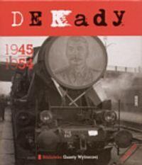 Okładka książki Dekady 1945-1954