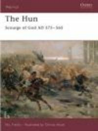 Okładka książki Hun Scourge of God AD 375-565