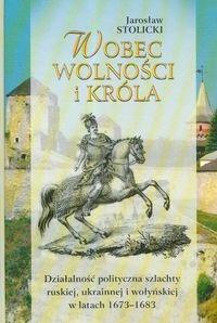 Okładka książki Wobec wolności i króla